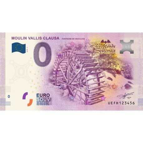 84 - Moulin Vallis Clausas - Le monde souterrain - 2018