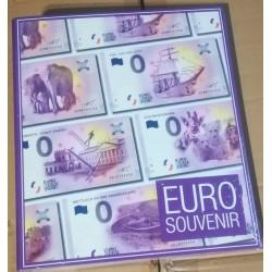 """Album billets €uro Souvenir Allemagne 2016/2017 - avec billet """"Pont neuf"""""""