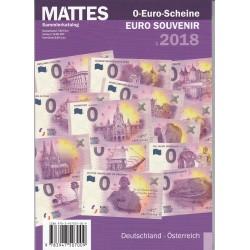 Album de poche ROUTE pour billets Euro Souvenir