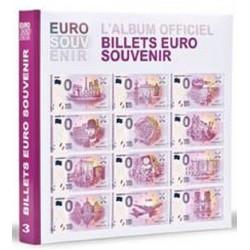 """Album billets €uro Souvenir 2016 - avec billet """"Pont neuf"""""""