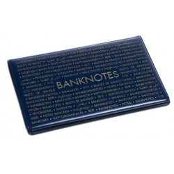 Album de poche ROUTE Banknotes 210mm X 125mm