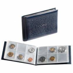 Album de poche pour 48 pièces de monnaie, blue