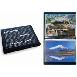 Album de poche ROUTE Postcards pour 40 cartes postales, avec 20 feuilles relièes