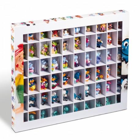 Boîte Surprise avec 60 compartiments pour figurines Surprise