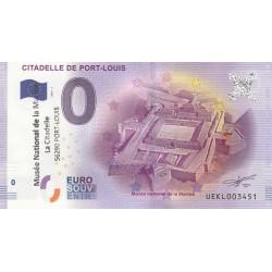 56 - Citadelle de Port-Louis - 2017 (tamponné)