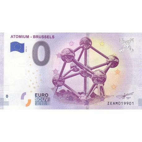 BE - Atomium - Brussels - 2019