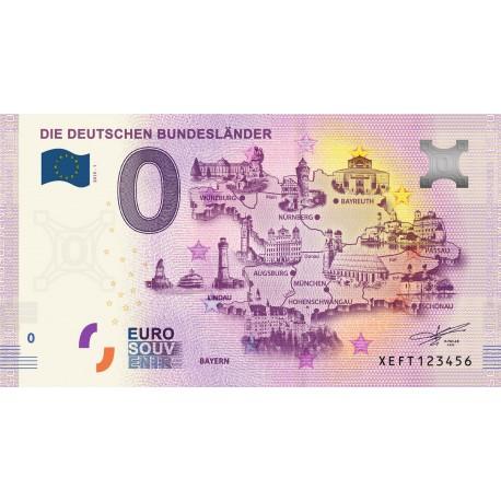 DE - Die Deutschen Bundeslander - 2019