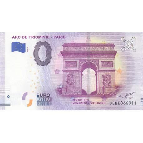 75 - Arc de Triomphe - Paris - 2019