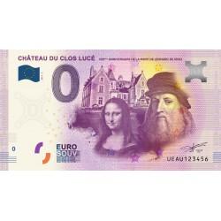 37 - Château du Clos Lucé - 500eme anniversaire de la mort de Léonard de Vinci - 2019