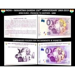 IN - Mahatma Gandhi 150th anniversary - 2019 (encart)
