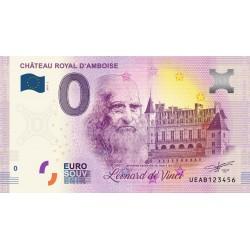 37 - Château royal d'Amboise - 500eme anniv. de la mort de L. De Vinci - 2019