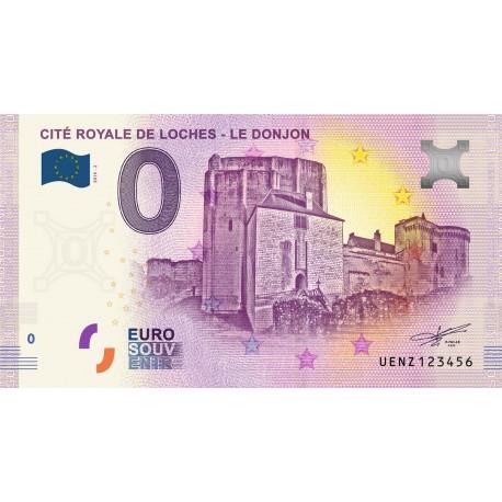 37 - Cité royale de Loches - Le donjon - 2019