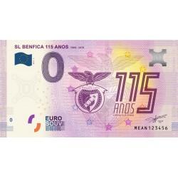PT - Sl Benfica 115 anos - 1904 / 2019 - 2019