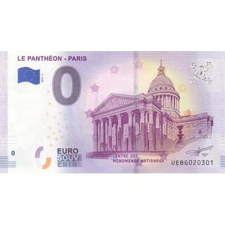 75 - Le Panthéon - Paris - 2019