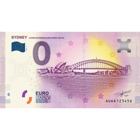 AU - Sydney - Harbour bridge and opéra house - 2019
