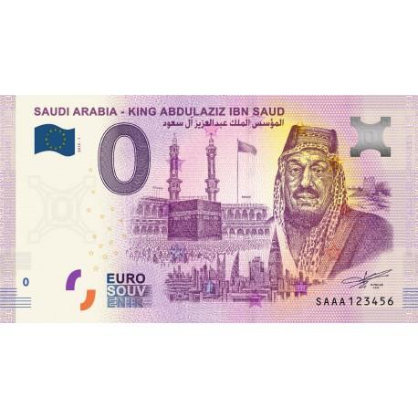 SA - Saudi Arabia - King Abdulaziz Ibn Saud - 2019