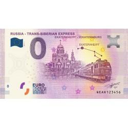 RU -Russia - Trans-Siberian Express - 2019