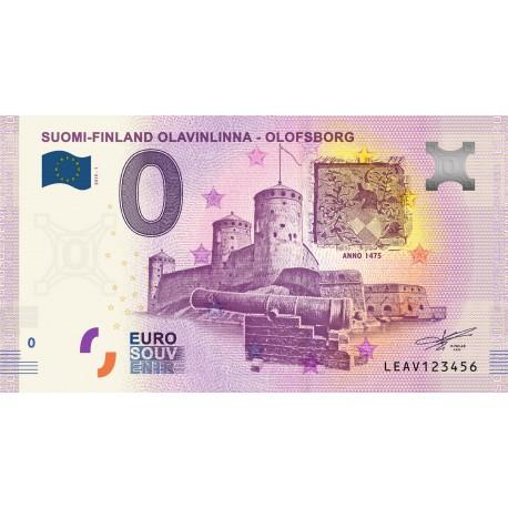FI - Suomi-Finland Olavinlinna - Olofsborg - 2019