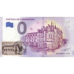 37 - Château de Chenonceau - timbré - 2019