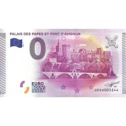 84 - Palais des Papes et Pont d'Avignon - 2015