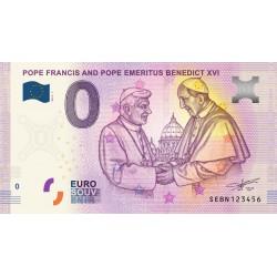 IT - Pope Francis and Pope Emeritus Benedict XVI - 2019