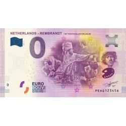 NL - Netherlands - Rembrandt - Het feestmaal......... - 2019