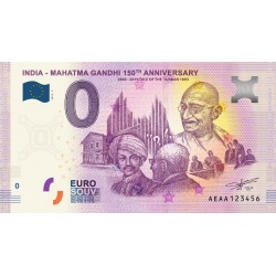IN - India - Mahatma Gandhi 3 150th anniversary - 2019
