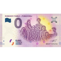 RU - ROMANOV FAMILY - РОМАНОВЫ - 2019