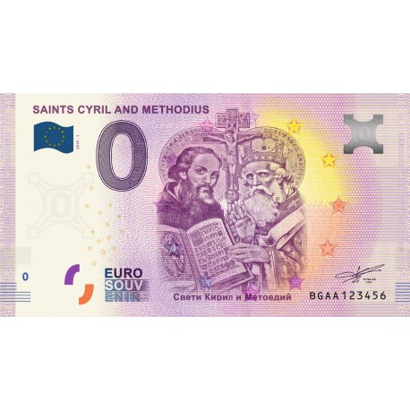 BG - Saints Cyril and Methodius - 2019
