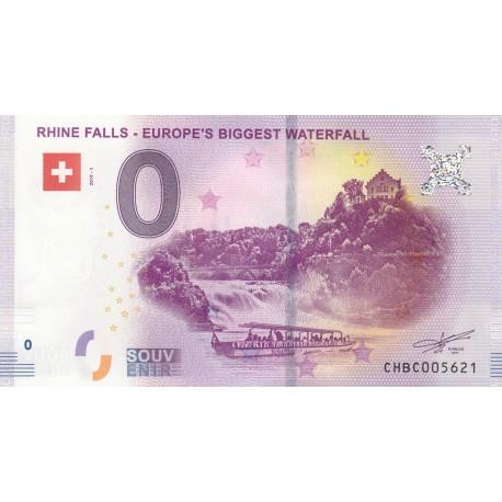 CH - Rhine Falls - Europe's Biggest Waterfall - 2019