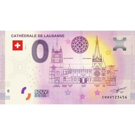 CH - Cathédrale de Lausanne - 2019