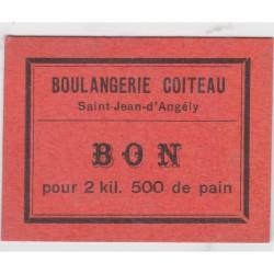 Bon d'alimentation - Bon pour 2kg500 de pain - Boulangerie Coiteau
