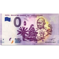 IN - India - Mahatma Gandhi 4 150th anniversary - 2020