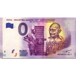 IN - India - Mahatma Gandhi 6 150th anniversary - 2020