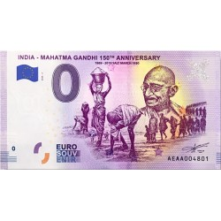 IN - India - Mahatma Gandhi 7 150th anniversary - 2020