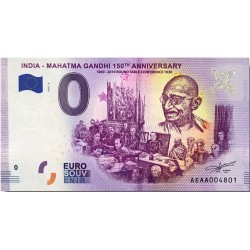 IN - India - Mahatma Gandhi 8 150th anniversary - 2020