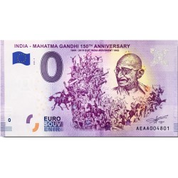 IN - India - Mahatma Gandhi 9 150th anniversary - 2020