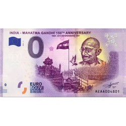 IN - India - Mahatma Gandhi 11 150th anniversary - 2020