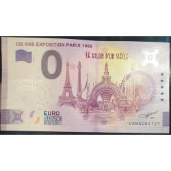 "75 - UENA - 120 ans exposition Paris 1900 ""ANNIVERSARY"" - 2020"