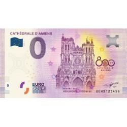 80 - UEHX - Cathédrale d' Amiens - 800 ans - 2020