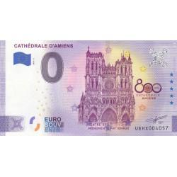 "80 - UEHX - Cathédrale d'Amiens - 800 ans ""ANNIVERSARY"" - 2020"