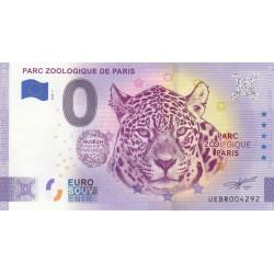 """75 - UEBR - Parc zoologique de Paris """"ANNIVERSARY"""" - 2020"""