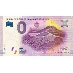 63 - Le Puy de Dôme et la chaîne des Puys - 2020