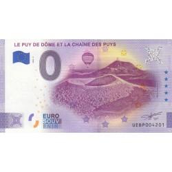 """63 - Le Puy de Dôme et la chaîne des Puys """"ANNIVERSARY"""" - 2020"""