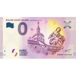 03 - Saint-Gérand-Le-Puy - Eglise St Julien - 2020 (numéros inférieurs a 100)