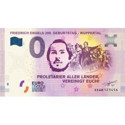 DE - Friedrich Engels 200. Geburtstag - Wuppertal - 2020