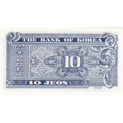 10 jeon - 1962 - Corée du sud