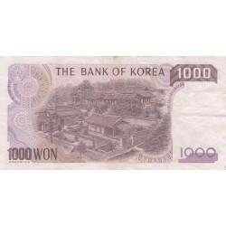 1000 Won- 1983 - Corée du sud
