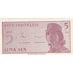 5 Sen - 1964 - Indonésie