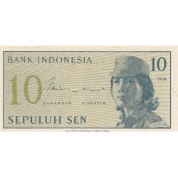 10 Sen - 1964 - Indonésie